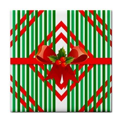 Christmas Gift Wrap Decoration Red Face Towel
