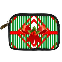 Christmas Gift Wrap Decoration Red Digital Camera Cases