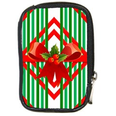 Christmas Gift Wrap Decoration Red Compact Camera Cases