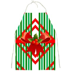 Christmas Gift Wrap Decoration Red Full Print Aprons