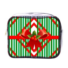 Christmas Gift Wrap Decoration Red Mini Toiletries Bags