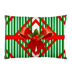 Christmas Gift Wrap Decoration Red Pillow Case (Two Sides)