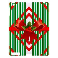 Christmas Gift Wrap Decoration Red Apple Ipad 3/4 Hardshell Case