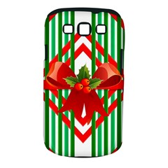 Christmas Gift Wrap Decoration Red Samsung Galaxy S III Classic Hardshell Case (PC+Silicone)