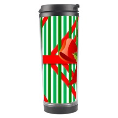 Christmas Gift Wrap Decoration Red Travel Tumbler