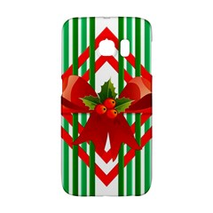 Christmas Gift Wrap Decoration Red Galaxy S6 Edge