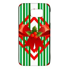 Christmas Gift Wrap Decoration Red Galaxy S6