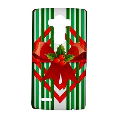 Christmas Gift Wrap Decoration Red LG G4 Hardshell Case