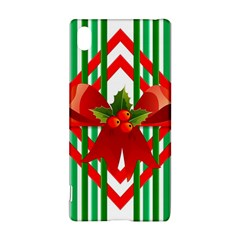 Christmas Gift Wrap Decoration Red Sony Xperia Z3+