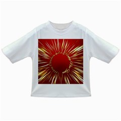 Christmas Greeting Card Star Infant/Toddler T-Shirts