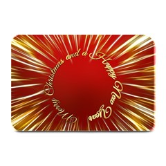 Christmas Greeting Card Star Plate Mats