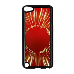 Christmas Greeting Card Star Apple Ipod Touch 5 Case (black)