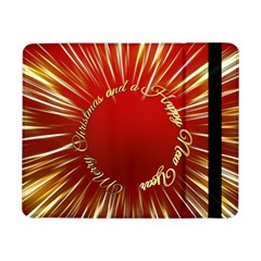 Christmas Greeting Card Star Samsung Galaxy Tab Pro 8 4  Flip Case
