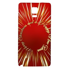 Christmas Greeting Card Star Galaxy Note 4 Back Case