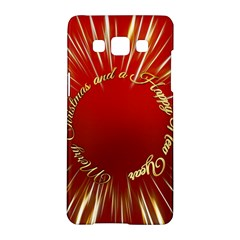 Christmas Greeting Card Star Samsung Galaxy A5 Hardshell Case