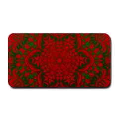 Christmas Kaleidoscope Art Pattern Medium Bar Mats