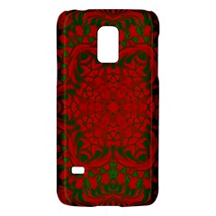 Christmas Kaleidoscope Art Pattern Galaxy S5 Mini