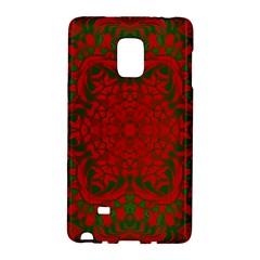 Christmas Kaleidoscope Art Pattern Galaxy Note Edge