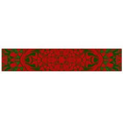 Christmas Kaleidoscope Art Pattern Flano Scarf (Large)
