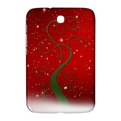 Christmas Modern Day Snow Star Red Samsung Galaxy Note 8.0 N5100 Hardshell Case