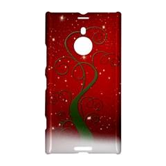 Christmas Modern Day Snow Star Red Nokia Lumia 1520