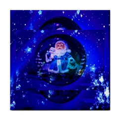 Christmas Nicholas Ball Tile Coasters