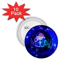 Christmas Nicholas Ball 1.75  Buttons (10 pack)