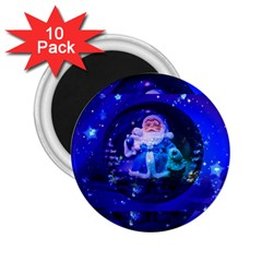 Christmas Nicholas Ball 2.25  Magnets (10 pack)