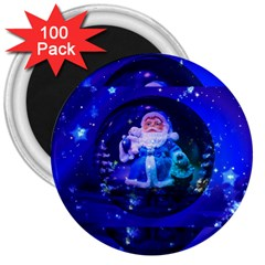Christmas Nicholas Ball 3  Magnets (100 pack)