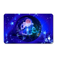 Christmas Nicholas Ball Magnet (Rectangular)