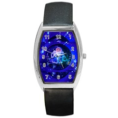 Christmas Nicholas Ball Barrel Style Metal Watch