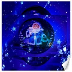 Christmas Nicholas Ball Canvas 20  x 20