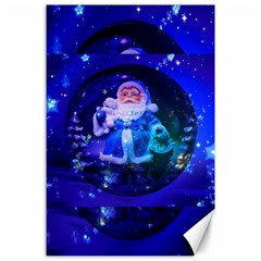 Christmas Nicholas Ball Canvas 24  x 36