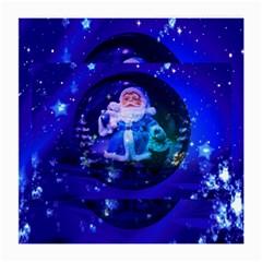 Christmas Nicholas Ball Medium Glasses Cloth (2-Side)