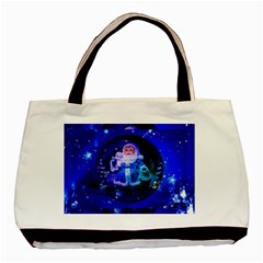 Christmas Nicholas Ball Basic Tote Bag (Two Sides)
