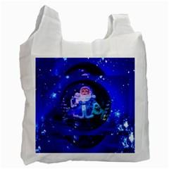 Christmas Nicholas Ball Recycle Bag (Two Side)