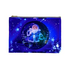 Christmas Nicholas Ball Cosmetic Bag (Large)
