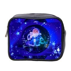 Christmas Nicholas Ball Mini Toiletries Bag 2 Side