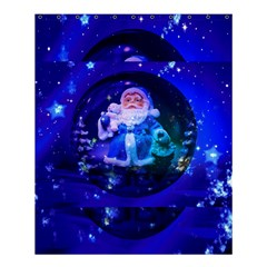 Christmas Nicholas Ball Shower Curtain 60  x 72  (Medium)