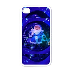 Christmas Nicholas Ball Apple iPhone 4 Case (White)