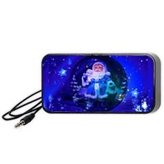 Christmas Nicholas Ball Portable Speaker (Black)