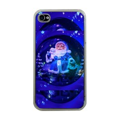 Christmas Nicholas Ball Apple iPhone 4 Case (Clear)