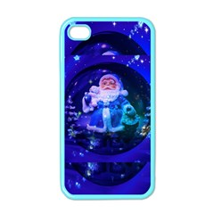 Christmas Nicholas Ball Apple iPhone 4 Case (Color)