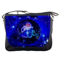 Christmas Nicholas Ball Messenger Bags