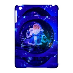 Christmas Nicholas Ball Apple Ipad Mini Hardshell Case (compatible With Smart Cover)
