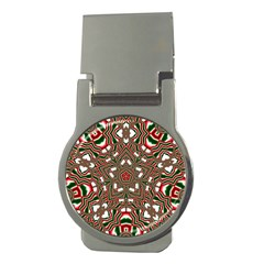 Christmas Kaleidoscope Money Clips (Round)