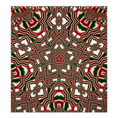Christmas Kaleidoscope Shower Curtain 66  x 72  (Large)