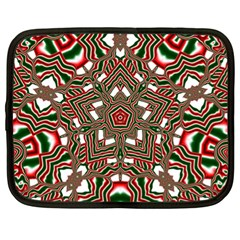 Christmas Kaleidoscope Netbook Case (XL)