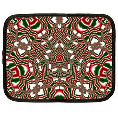 Christmas Kaleidoscope Netbook Case (xxl)
