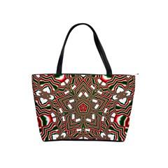 Christmas Kaleidoscope Shoulder Handbags